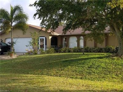 Cape Coral Single Family Home For Sale: 203 NE 7th Pl