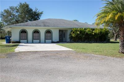 Glades County Single Family Home For Sale: 1240 Pollywog Dr