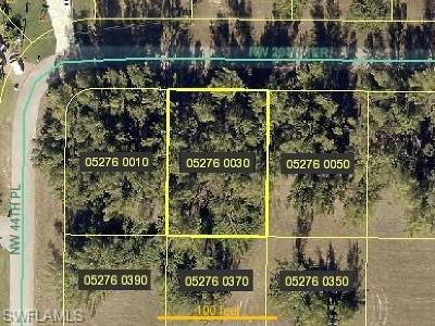 Cape Coral Residential Lots & Land For Sale: 4410 NW 20th Ter