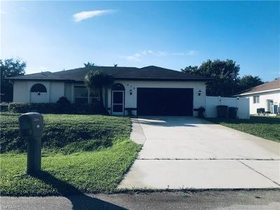 Cape Coral Single Family Home For Sale: 418 SW 19th Ter