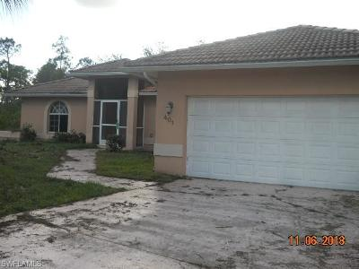 Lehigh Acres FL Single Family Home For Sale: $176,800