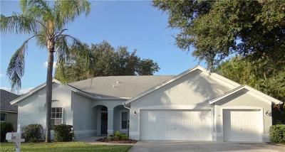Estero Single Family Home For Sale: 22029 Seashore Cir