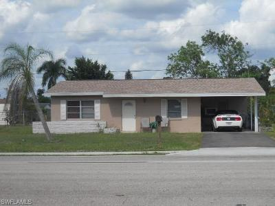 Lehigh Acres FL Single Family Home For Sale: $129,900