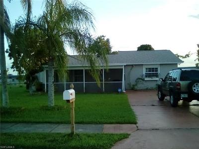 Lehigh Acres FL Single Family Home For Sale: $169,000