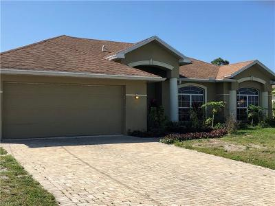 Lehigh Acres Single Family Home For Sale: 3315 37th St SW