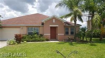 Lehigh Acres Rental For Rent: 18330 Beauty Berry Ct