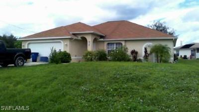 Lehigh Acres Single Family Home For Sale: 510 Paloma Ave