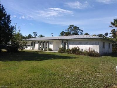Lehigh Acres Single Family Home For Sale: 429 Hamilton Ave