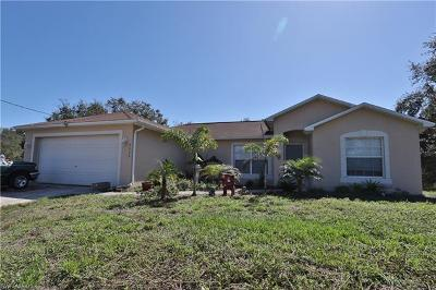 Lehigh Acres Single Family Home For Sale: 2511 52nd St SW