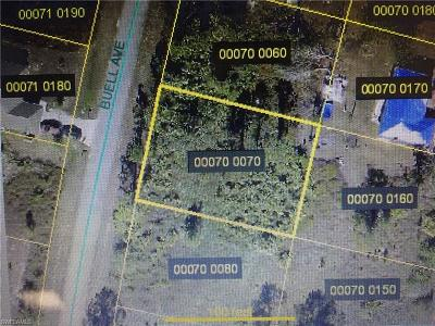 Fort Myers Residential Lots & Land For Sale: 1243 Buell Ave