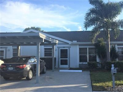 Fort Myers FL Condo/Townhouse For Sale: $123,000