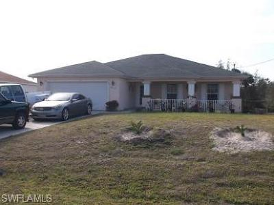 Lehigh Acres Single Family Home For Sale: 2515 55 St W