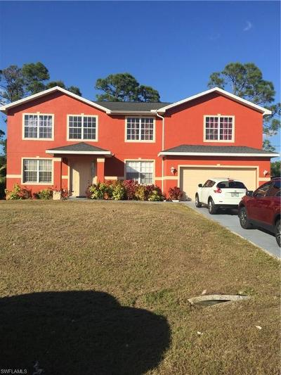 Lehigh Acres Single Family Home For Sale: 5562 Benton St