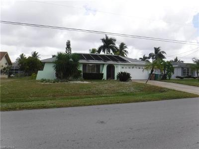 Cape Coral, Matlacha, North Fort Myers Single Family Home For Sale: 1627 SE 16th St