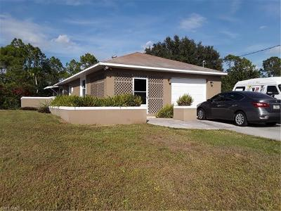 Lehigh Acres Single Family Home For Sale: 4616 28th St SW