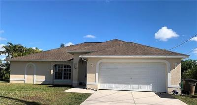 Cape Coral Single Family Home For Sale: 1127 NW 28th Pl