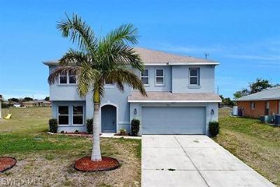 Cape Coral Single Family Home For Sale: 1827 NE 15th Pl