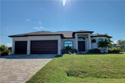 Cape Coral Single Family Home For Sale: 3428 NW 18th St