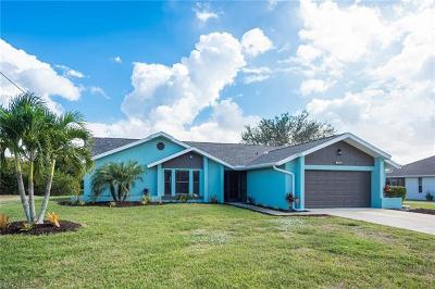 Cape Coral Single Family Home For Sale: 609 SE 19th Ct