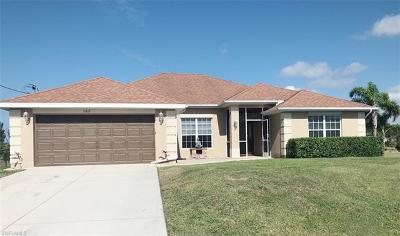 Cape Coral Single Family Home For Sale: 3417 NW 21st St