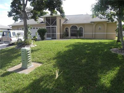 Cape Coral Single Family Home For Sale: 124 SE 3rd Ter