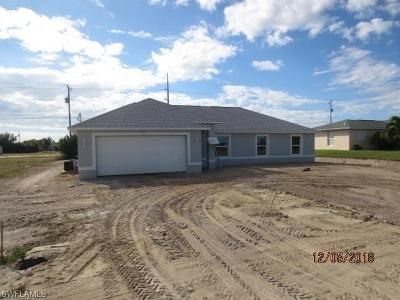 Cape Coral FL Single Family Home For Sale: $228,500