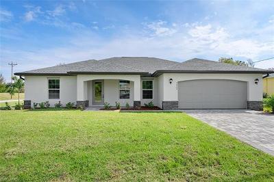 Cape Coral FL Single Family Home For Sale: $226,990