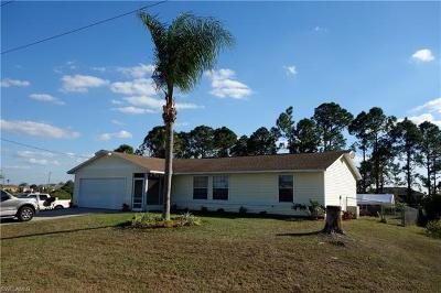 Lehigh Acres Single Family Home For Sale: 2925 20th St SW