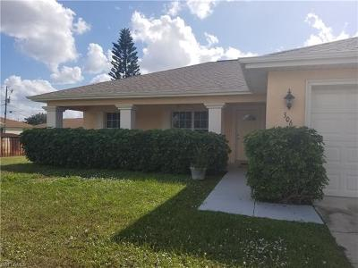Cape Coral Single Family Home For Sale: 306 NW 5th St
