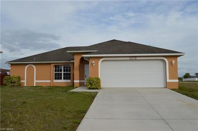 Cape Coral FL Single Family Home For Sale: $199,500