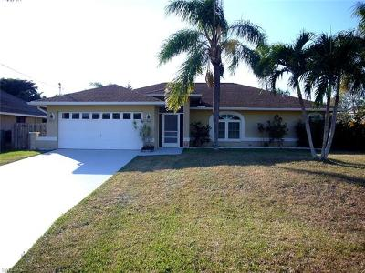 Cape Coral Single Family Home For Sale: 5004 SW 25th Ct