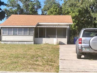 Collier County, Charlotte County, Lee County Single Family Home For Sale: 2816 Central Ave