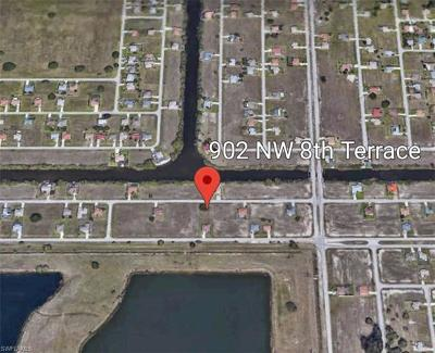 Cape Coral Residential Lots & Land For Sale: 902 NW 8th Ter