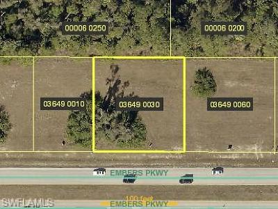 Cape Coral Residential Lots & Land For Sale: 1041 Embers Pky W