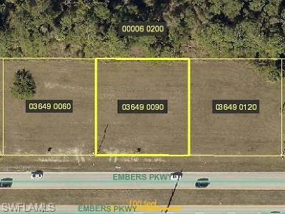 Cape Coral Residential Lots & Land For Sale: 1029 Embers Pky W