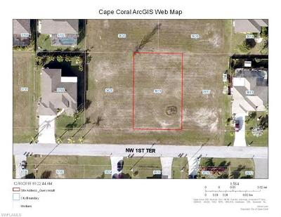 Cape Coral Residential Lots & Land For Sale: 3621 NW 1st Ter