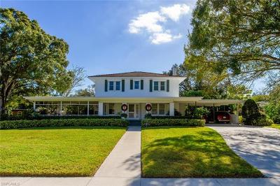 Fort Myers Single Family Home For Sale: 1334 Gasparilla Dr