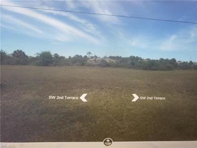 Cape Coral Residential Lots & Land For Sale: 2819 SW 2nd Ter