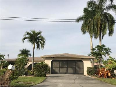Cape Coral, Fort Myers, North Fort Myers Single Family Home For Sale: 121 SE 42nd Ter