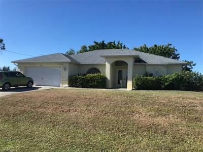 Cape Coral Single Family Home For Sale: 1834 NW 20th Ave
