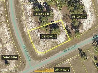 Cape Coral Residential Lots & Land For Sale: 4501 NW 36th Ave