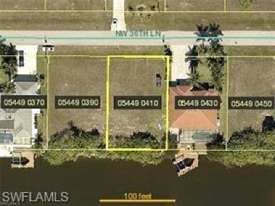 Cape Coral Residential Lots & Land For Sale: 4010 NW 36th Ln