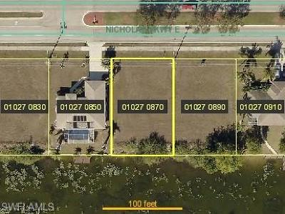 Cape Coral Residential Lots & Land For Sale: 506 Nicholas Pky E
