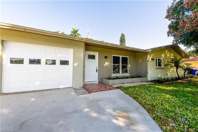 Cape Coral, Fort Myers, North Fort Myers Single Family Home For Sale: 4155 E River Dr