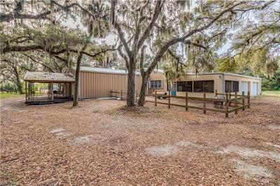 Glades County Single Family Home For Sale: 2599 County Road 721 Loop