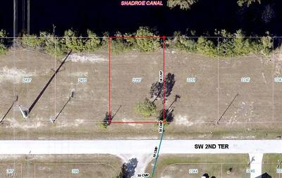 Cape Coral Residential Lots & Land For Sale: 2257 SW 2nd Ter