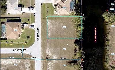 Cape Coral Residential Lots & Land For Sale: 1805 NE 1st Ave