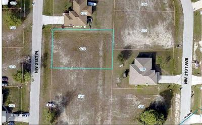 Cape Coral Residential Lots & Land For Sale: 1219 NW 21st Pl