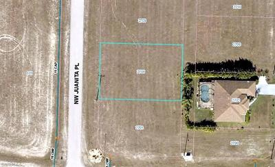 Cape Coral Residential Lots & Land For Sale: 2705 NW Juanita Pl