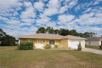 Lehigh Acres Single Family Home For Sale: 365 Claridge Cir